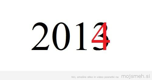 First mistake in 2014